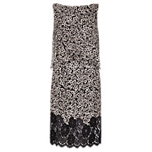 Buy Damsel in a dress Ebony Lace Dress, Black/White Online at johnlewis.com