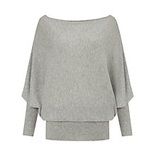 Buy Phase Eight Britney Batwing Jumper, Grey Online at johnlewis.com