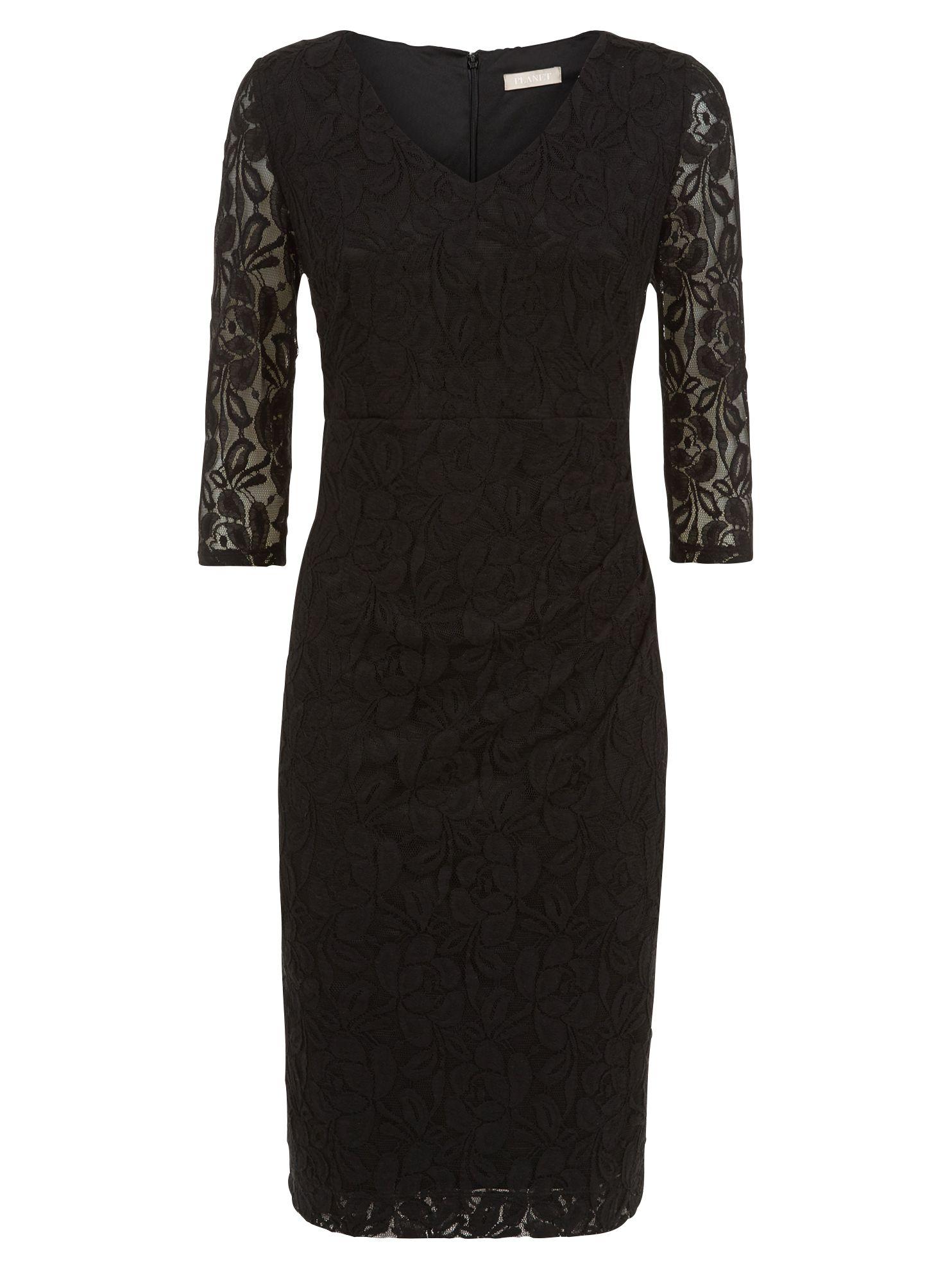 planet lace dress black, planet, lace, dress, black, 14|8|10|18|16|12|20, women, plus size, womens dresses, special offers, womenswear offers, womens dresses offers, 1897176
