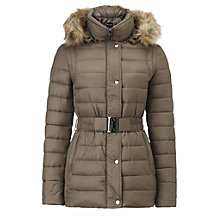 Buy Phase Eight Neave Puffer Jacket, Mink Online at johnlewis.com