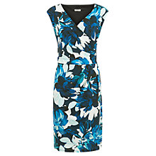 Buy Planet Flower Print Dress, Multi Blue Online at johnlewis.com