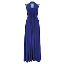Buy Planet Maxi Dress, Mid Blue Online at johnlewis.com