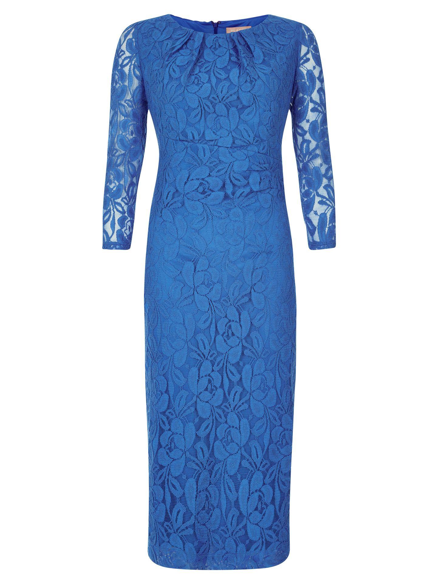 planet pleat lace dress cornflower blue, planet, pleat, lace, dress, cornflower, blue, 10|12|18|14|16|8|20, women, plus size, womens dresses, 1897217