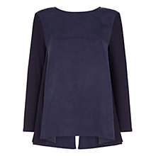 Buy Damsel in a dress Tulip Top, Navy Online at johnlewis.com