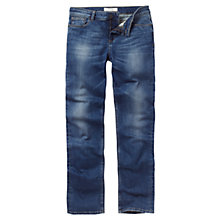 Buy Fat Face Straight Jeans, Opal Blue Online at johnlewis.com