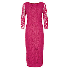 Buy Planet Lace Dress, Cerise Online at johnlewis.com
