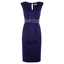 Buy Planet Embellished Dress, Dark Purple Online at johnlewis.com