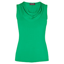 Buy Phase Eight Carrie Plain Sleeveless Top, Green Online at johnlewis.com
