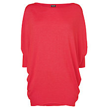 Buy Phase Eight Becca Batwing Jumper, Pink Online at johnlewis.com