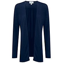 Buy Pure Collection Luxury Linen Longline Cardigan, Navy Online at johnlewis.com