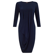 Buy Phase Eight Drape Tunic Dress, Navy Online at johnlewis.com