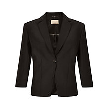Buy Planet Button Jacket, Black Online at johnlewis.com