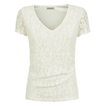 Buy Planet Lace Top, Ivory Online at johnlewis.com