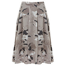Buy Mint Velvet Dita Print 50s Skirt, Grey Online at johnlewis.com