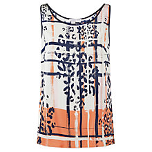 Buy Fenn Wright Manson Hadera Top, Orange Multi Online at johnlewis.com
