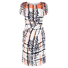 Buy Fenn Wright Manson Hadera Dress, Orange Multi Online at johnlewis.com