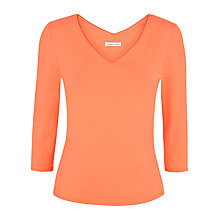 Buy Fenn Wright Manson Daphne Top, Orange Online at johnlewis.com