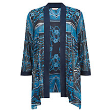 Buy Windsmoor Draped Pearls Kimono, Dark Blue Online at johnlewis.com