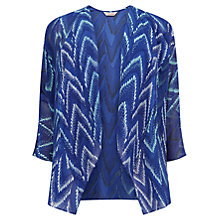 Buy Windsmoor Fringed Follies Kimono, Multi Blue Online at johnlewis.com