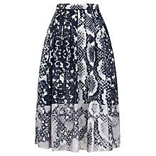 Buy Fenn Wright Manson Astelia Skirt, Navy Print Online at johnlewis.com