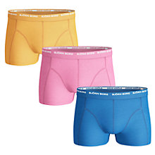 Buy Bjorn Borg Seasonal Trunks, Pack of 3 Online at johnlewis.com
