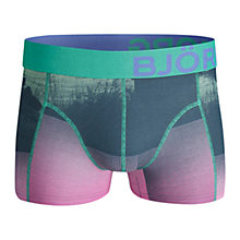 Buy Bjorn Borg Sun Down Trunks, Green/Pink Online at johnlewis.com