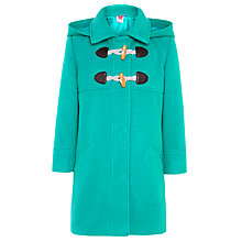 Buy John Lewis Girl Duffle Coat, Jade Online at johnlewis.com
