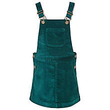 Buy John Lewis Girl Uncut Cord Pinafore, Teal Online at johnlewis.com