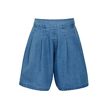 Buy John Lewis Girls' Flippy Skort, Chambray Online at johnlewis.com