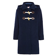 Buy John Lewis Girl Duffle Coat, Navy Online at johnlewis.com