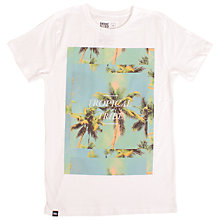 Buy Dedicated Tropical Tribe T-Shirt, White Online at johnlewis.com