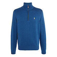 Buy DO NOT LAUNCH - IMAGE ISSUE - Polo Ralph Lauren Half Zip Cotton Jumper Online at johnlewis.com