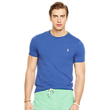 Buy Polo Ralph Lauren Custom Fit Crew Neck T-Shirt Online at johnlewis.com