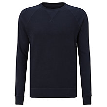 Buy Diesel S-Jappie Reversible Sweatshirt, Navy Online at johnlewis.com
