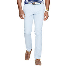Buy Polo Ralph Lauren Slim Newport Chinos, Waterfall Online at johnlewis.com