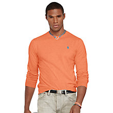Buy Polo Ralph Lauren Regular Fit Crew Neck Jumper Online at johnlewis.com