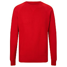 Buy Diesel Jappie Reversible Sweatshirt, Red Online at johnlewis.com