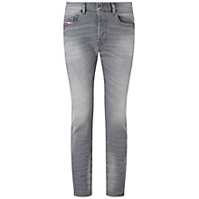 Buy Diesel Buster 839N Tapered Jeans, Grey Online at johnlewis.com