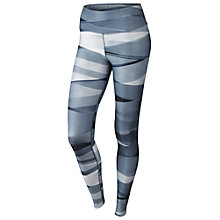 Buy Nike Legend 2.0 Ribbon Wrap Training Tights, Blue/Black Online at johnlewis.com
