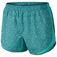 Buy Nike Women's Tempo Printed Shorts, Light  Aqua Online at johnlewis.com