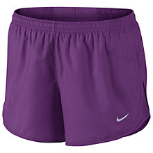 Buy Nike 7.5cm Modern Embossed Tempo Running Shorts Online at johnlewis.com
