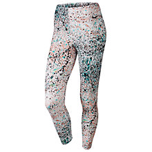 Buy Nike Club Splatter Print Cropped Leggings Online at johnlewis.com