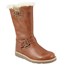 Buy John Lewis Leia Shearling Top Boots, Tan Online at johnlewis.com
