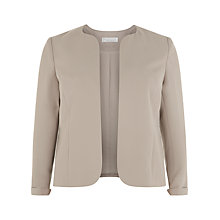 Buy Windsmoor Short Jacket, Mid Neutral Online at johnlewis.com