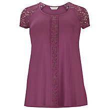 Buy Windsmoor Jersey Lace Tunic Top Online at johnlewis.com