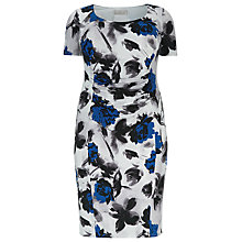 Buy Windsmoor Printed Dress, Multi/White Online at johnlewis.com