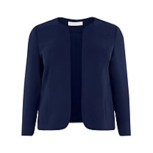 Buy Windsmoor Short Jacket, Navy Online at johnlewis.com