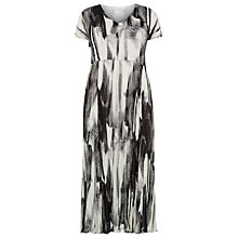 Buy Windsmoor Crinkle Dress, Multi Black Online at johnlewis.com