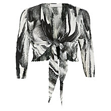 Buy Windsmoor Palmetto Print Shrug, Multi/Black Online at johnlewis.com