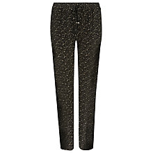 Buy Windsmoor Printed Jersey Trousers, Multi/Black Online at johnlewis.com